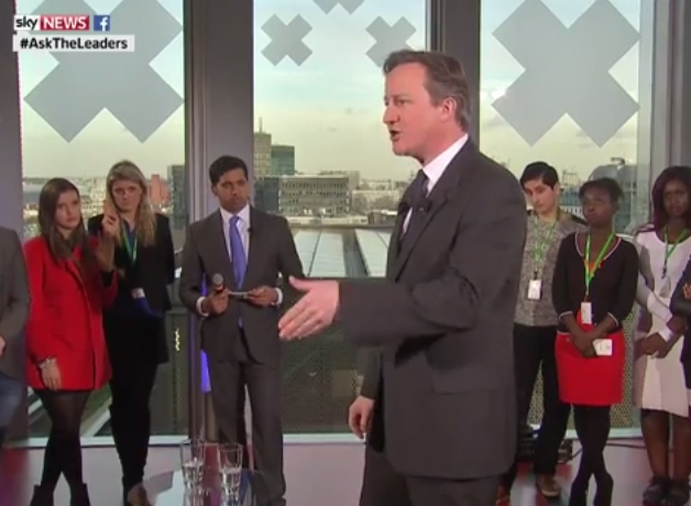 David Cameron says he has no objection to online voting