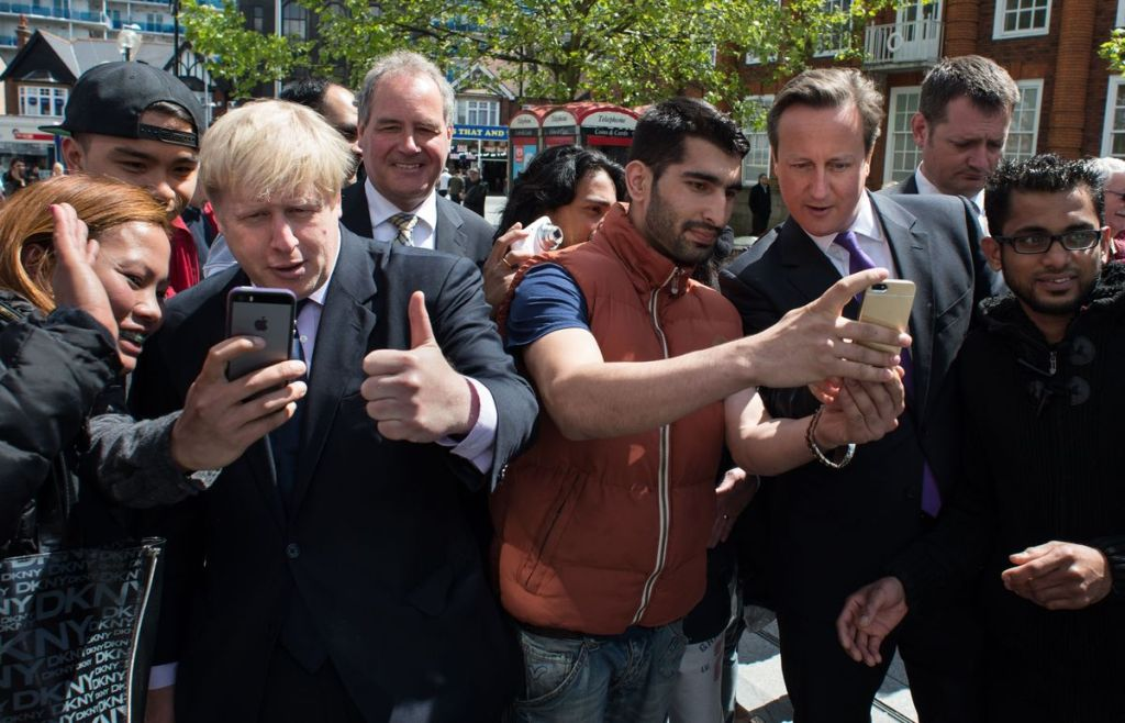 Will the 2015 General Election be remembered as the first selfie-election?