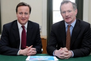 John Penrose and David Cameron