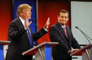 Ted Cruz, Donald Trump