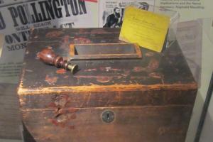 1872 ballot box