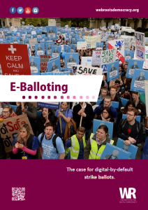 E-Balloting Cover Image