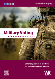Military Voting report cover image