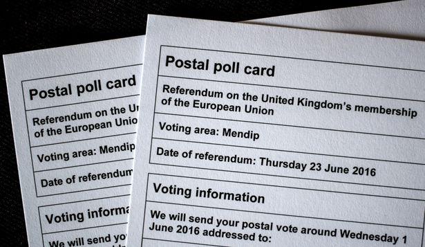 eu ref postal poll cards