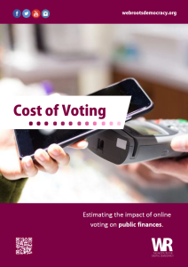 Cost of Voting report cover photo