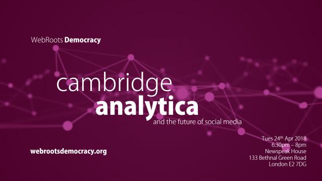 Cambridge Analytica event image