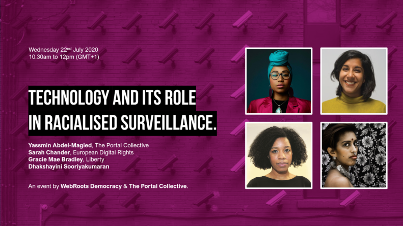 Technology and its role in racialised surveillance - event image2